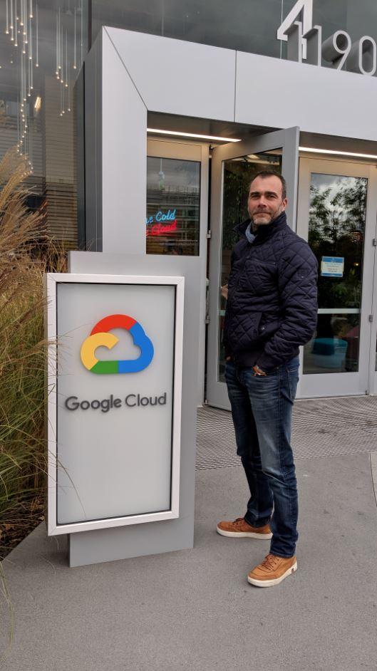 Google Cloud Mountain View Bertrand Garnier